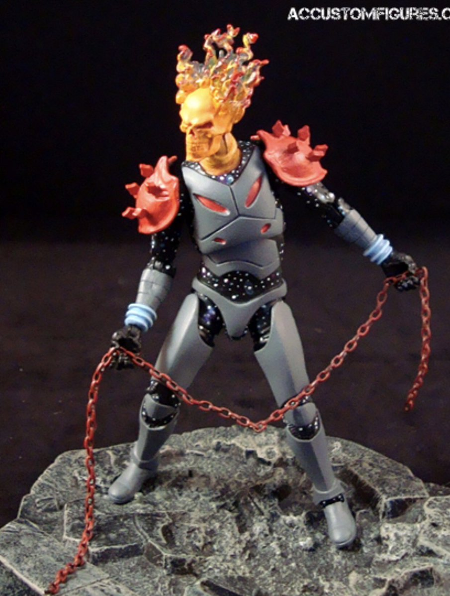 Super Punch: Cosmic Ghost Rider custom action figure