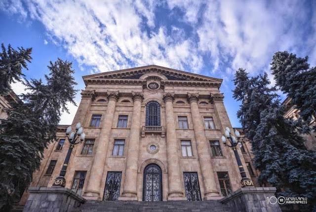 Asamblea Nacional de Armenia en el top de los edificios más bellos