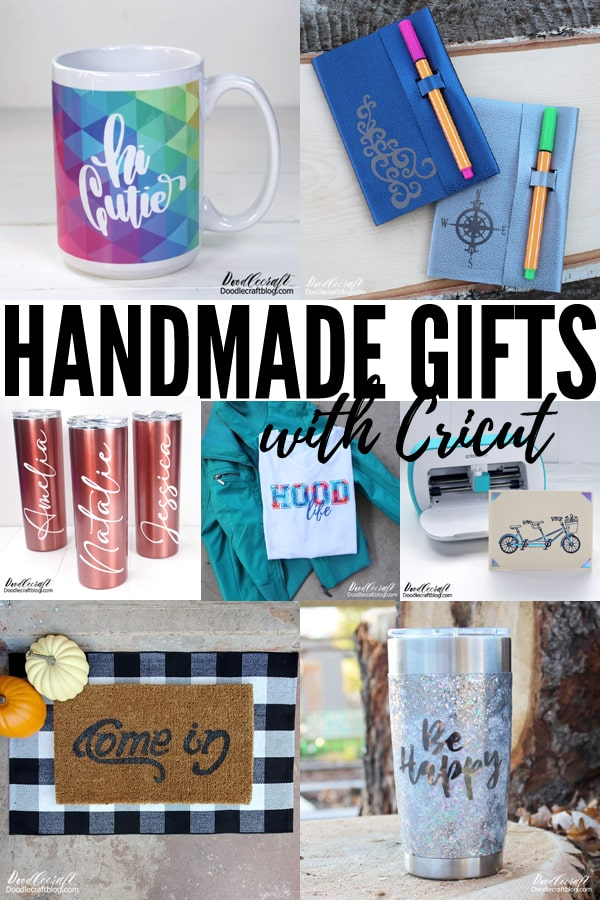 This time of year is all about holiday crafting and gifts, whether we like it or not. I choose to like it! In fact, I love it. I like making handmade gifts or adding personal touches to all my gift giving. Cricut has made gift giving and personalization a breeze!  I've been using Cricut since 2016 and I am hooked. I use my Cricut nearly daily. I have the Explore Air 2, the Cricut Maker and Cricut Joy. I love them all for different reasons. If I had to just buy one, it would hands-down be the Maker. The Maker has so many options! You may not feel like you need the additional options, but the learning curve is quick and you'll want to keep trying the next thing.  Whichever you decide, they are all fabulous and can help you with your Christmas crafting and gift giving. Plus, you can start a holiday side hustle using the Cricut and help out some friends with their gift giving too!