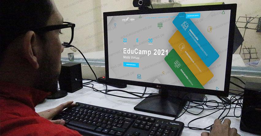 EDUCAMP VIRTUAL: Participa en las capacitaciones sobre el uso de herramientas digitales