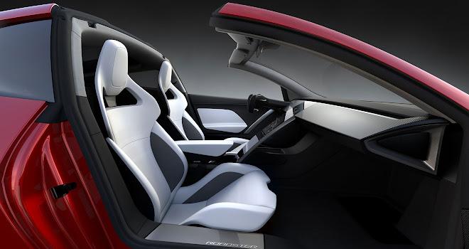 Tesla 2020 Roadster cabin