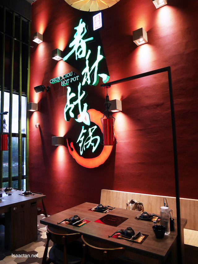 """Chun Ciou Hot Pot, Authentic Taiwanese Steamboat,  """"imperial"""" looking ambiance"""