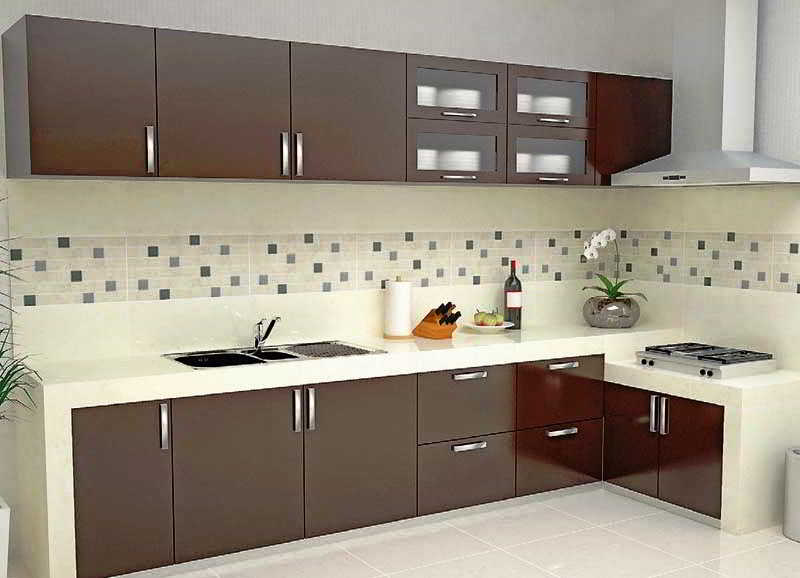Foto Desain Dapur Berbentuk L