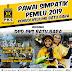 Pawai Simpatik Pemilu 2019, DPD PKS Gelar Konvoi Keliling Batu Bara