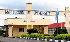 Mcpherson University Postutme