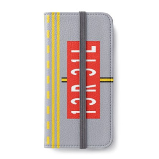 Holding Point Marking iPhone Wallet