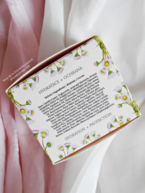 Manufaktura Sedmokráska denný ochranný pleťový krém zloženie