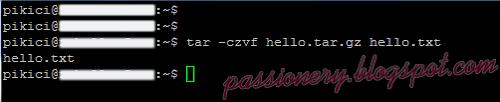 Nén 1 file bằng lệnh tar trong Linux
