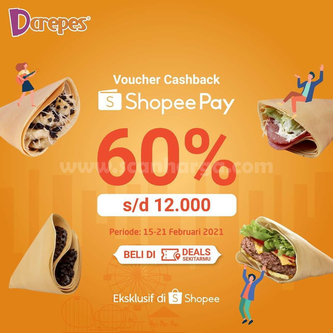 DCREPES Promo ShopeePay Voucher Cashback 60%