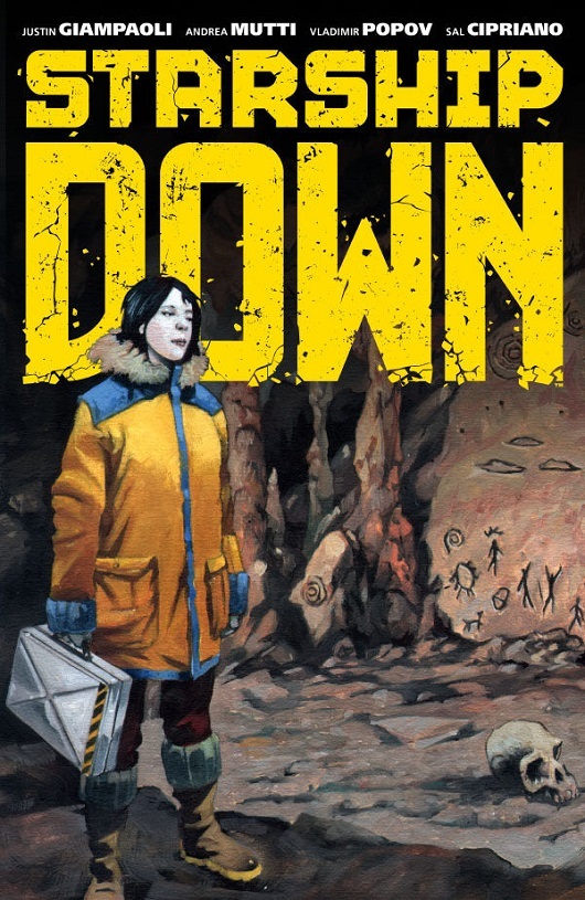 Cover of Starship Down TPB