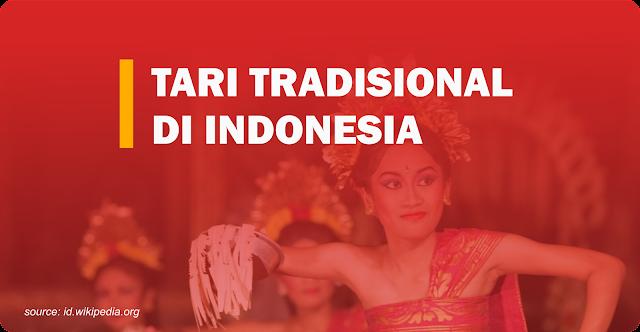 tari tradisional daerah di indonesia