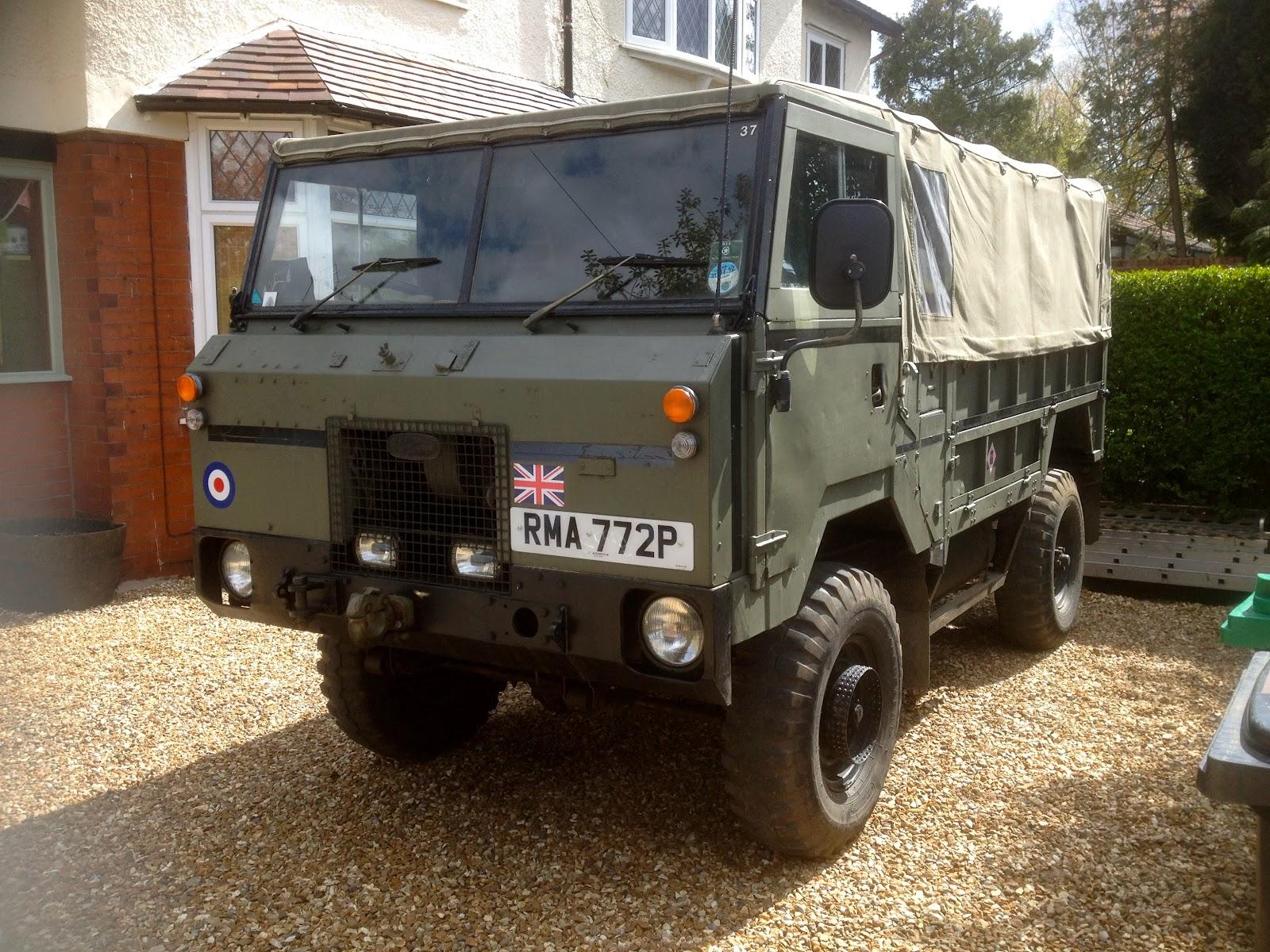 e Land Rover is never enough Land Rover 101 GS Forward Control