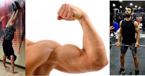 Rutina de ejercicios para tener brazos grandes, fuertes, resistentes y atractivos