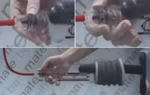 Basıncı boşalt ve Hydroxtreme 11 penis pompasını Çıkart