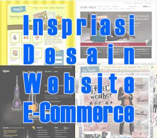 30 Inspirasi Desain untuk Website E-Commerce Anda