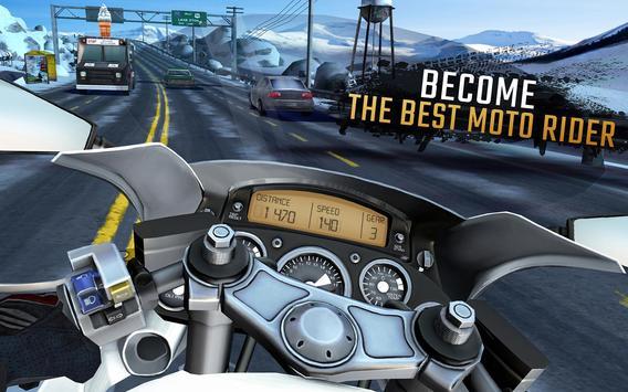 تحميل لعبة سباق الدراجات الشهيرة Moto Rider GO: Highway Traffic النسخة المهكرة
