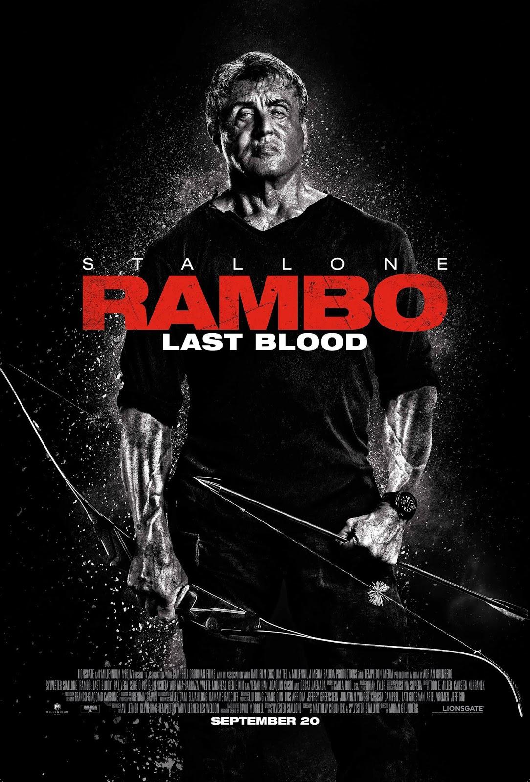 RamBo 5 : Giọt Máu Cuối Cùng - Rambo: Last Blood