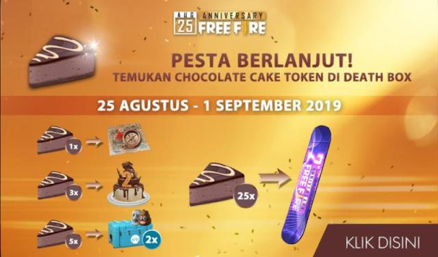 Cara Mendapatkan Cake Token Death Box Event Free Surfboard Anniversary