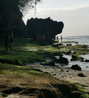 Padang Padang Beach. Isla de Bali, Indonesia.