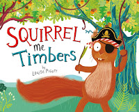 Squirrel Me Timbers book cover