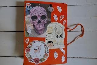 Jesienny art journal