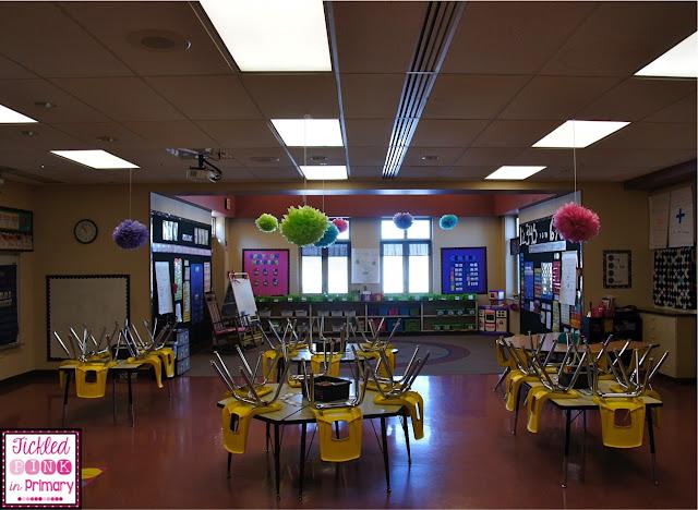Classroom Theme Decor - Bright Colors & Polka Dots Classroom