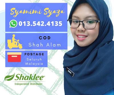 Pengedar Shaklee Shah Alam 0135424135
