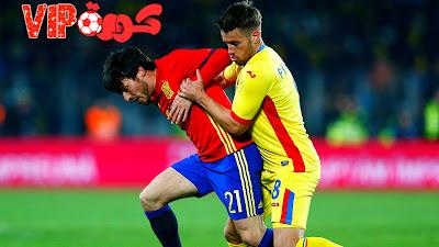 مباراة منتخب اسبانيا ورومانيا  تصفيات امم اوروبا 2020 .
