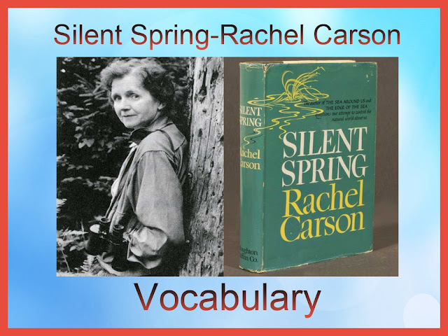 english made easy, silent spirng, rachel carson