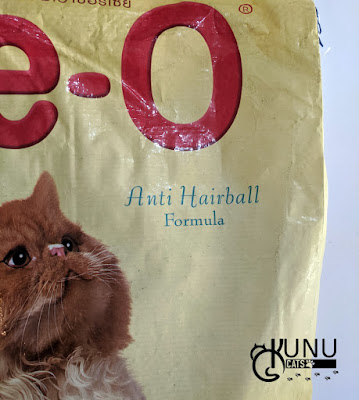Makanan Kucing Anti Hairball