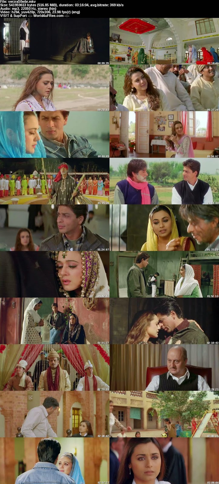 Free download veer zaara hd movie wallpaper #6.
