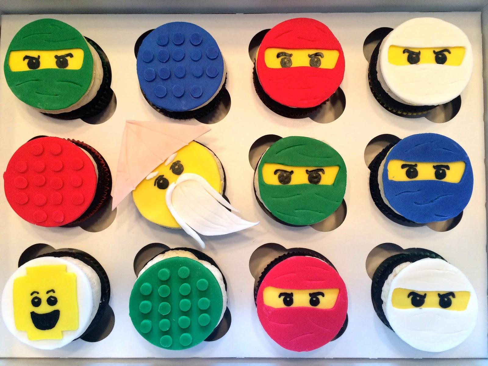 Much Kneaded: Lego Ninjago Cupcakes