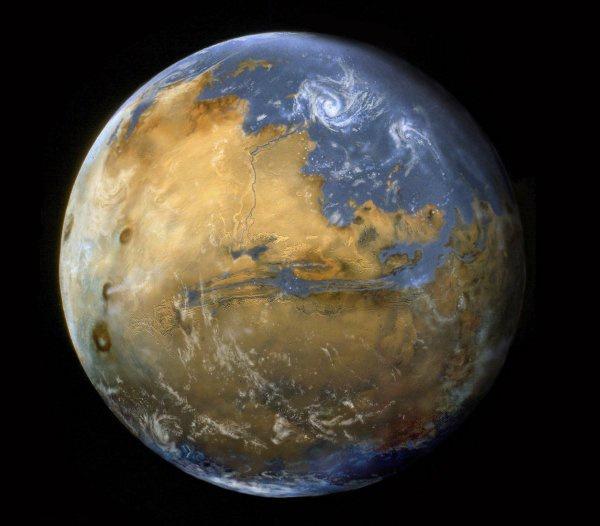 هل توجد شواطئ على كوكب المريخ | موقع عناكب