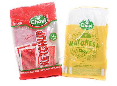 Chovi Ketchup y Mayonesa