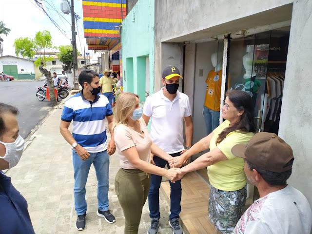 Alessandra Vieira visita a Vila de Santana, em São Joaquim do Monte
