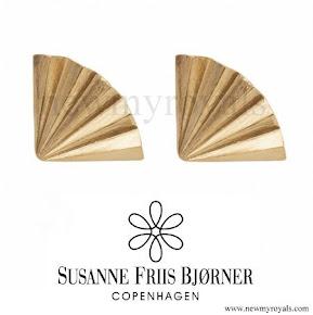 Queen Maxima jewels style Susanne Friis Bjørner Earrings