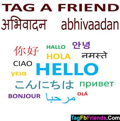 Hi in Hindi language