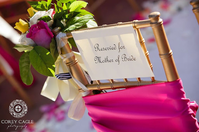 chair for mother of the bride | Corey Cagle Photography