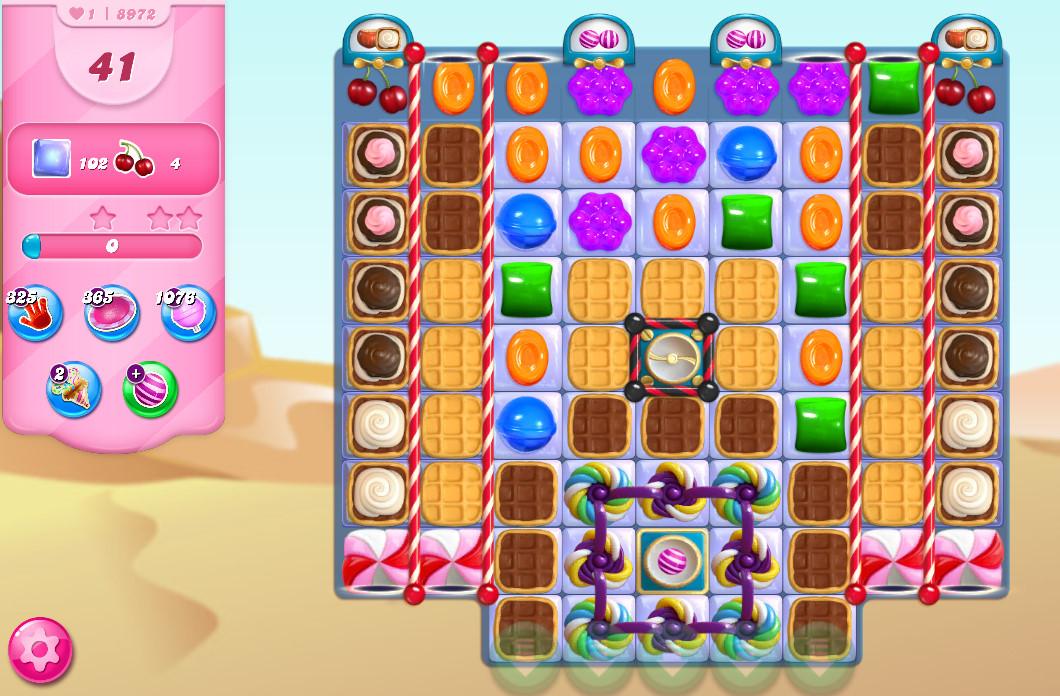 Candy Crush Saga level 8972