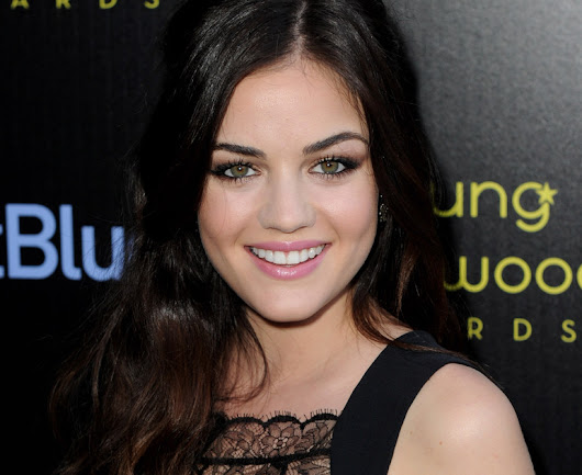 Lucy no evento da Young Hollywood