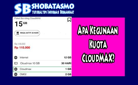 Apa Kegunaan Kuota CloudMAX telkomsel