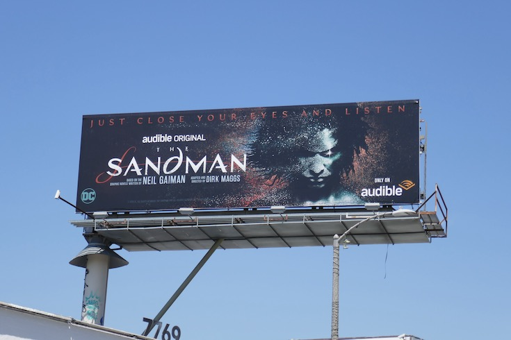 Audible Sandman billboard
