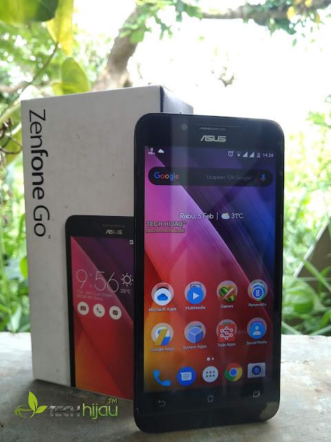 Review ASUS Zenfone Go Z00VD ZC500TG | Tech Hijau
