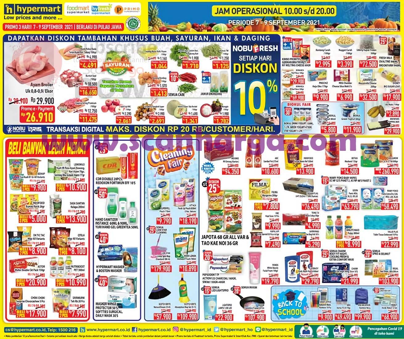Promo Hypermart Weekday Terbaru 7 - 9 September 2021 2