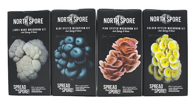 North Spore spray and grow kits