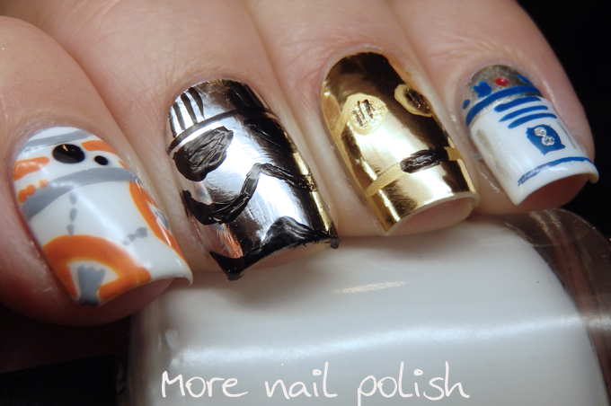 Star Wars nails ~ More Nail Polish