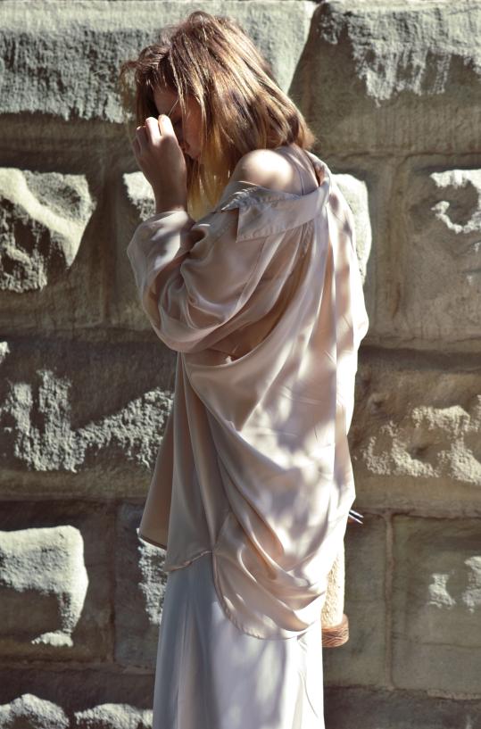 #jedwab; #sukienka #z #jedwabiu; #silk; #silkdress; #africanbag; #springlook; #ootd #fashion #inspiration #wiosennastylizacja