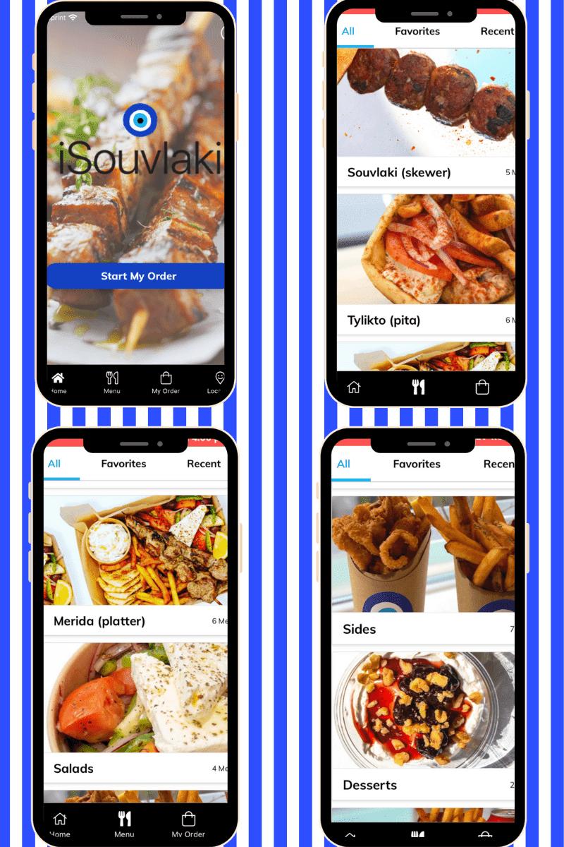 iSouvlaki NYC App, NYC Greek Restaurant,