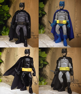 "Batman ""Dark Knight"" Resin Figure by WheresChappell – Batfleck Edition, West Edition, Burton Edition & Miller Edition"