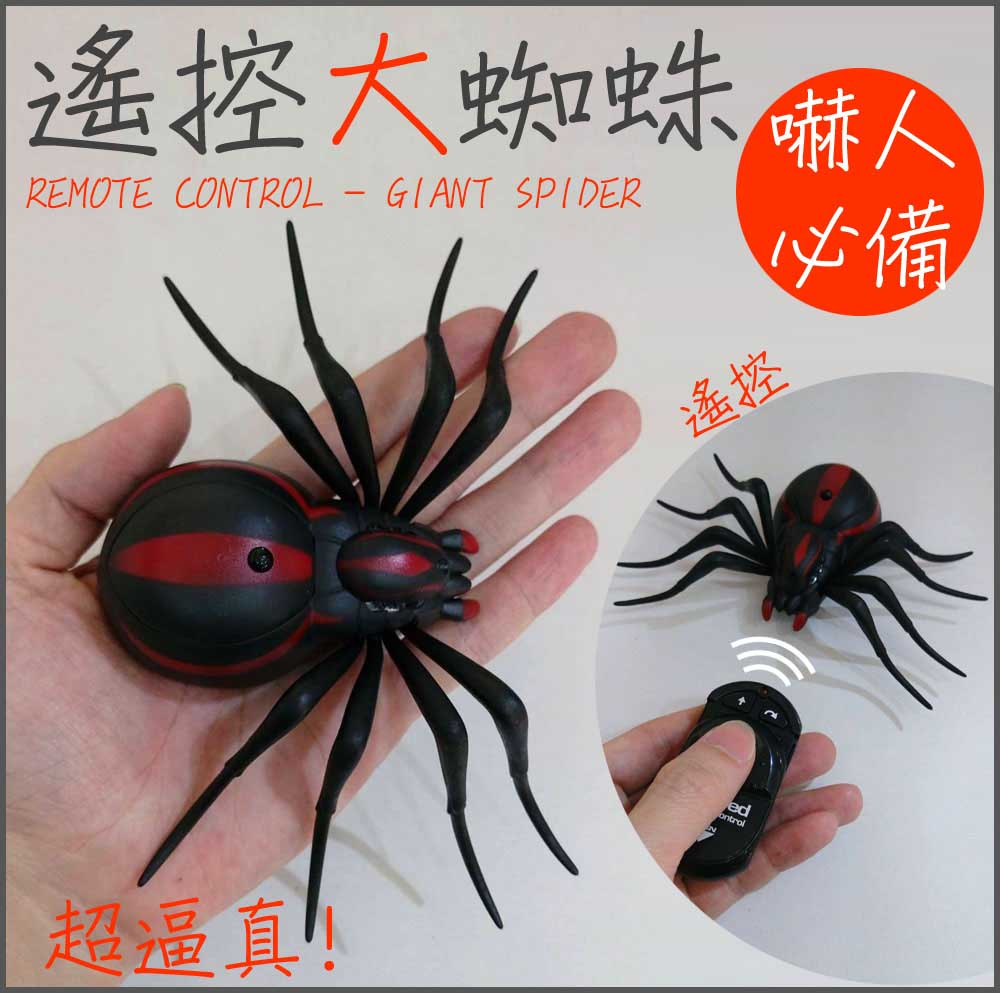 遙控大蜘蛛 遙控電子蜘蛛 Radio-controlled Spider